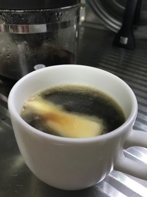 自家製バターコーヒー