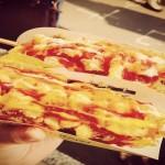 韓国のモッツァレラチーズホットドッグ
