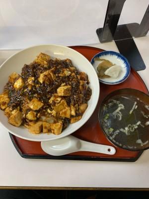 麻婆丼(泉食堂)