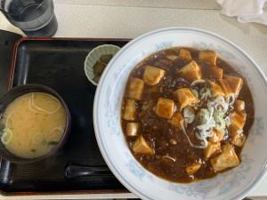 麻婆丼(玉も亭)